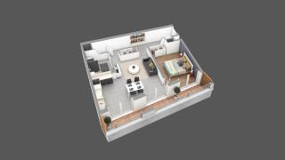 appartement 02A de type T2