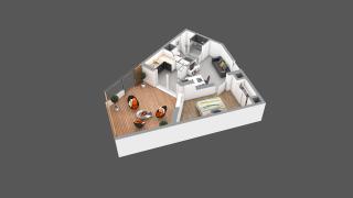 appartement 04A de type T2