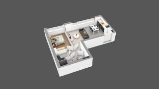 appartement 21C de type T2