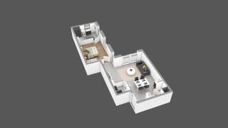 appartement 25B de type T2